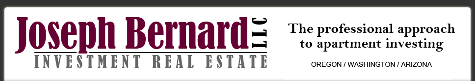 Joseph Bernard Investment Real Estate Leads the Portland Metro Area in Multifamily Transactions