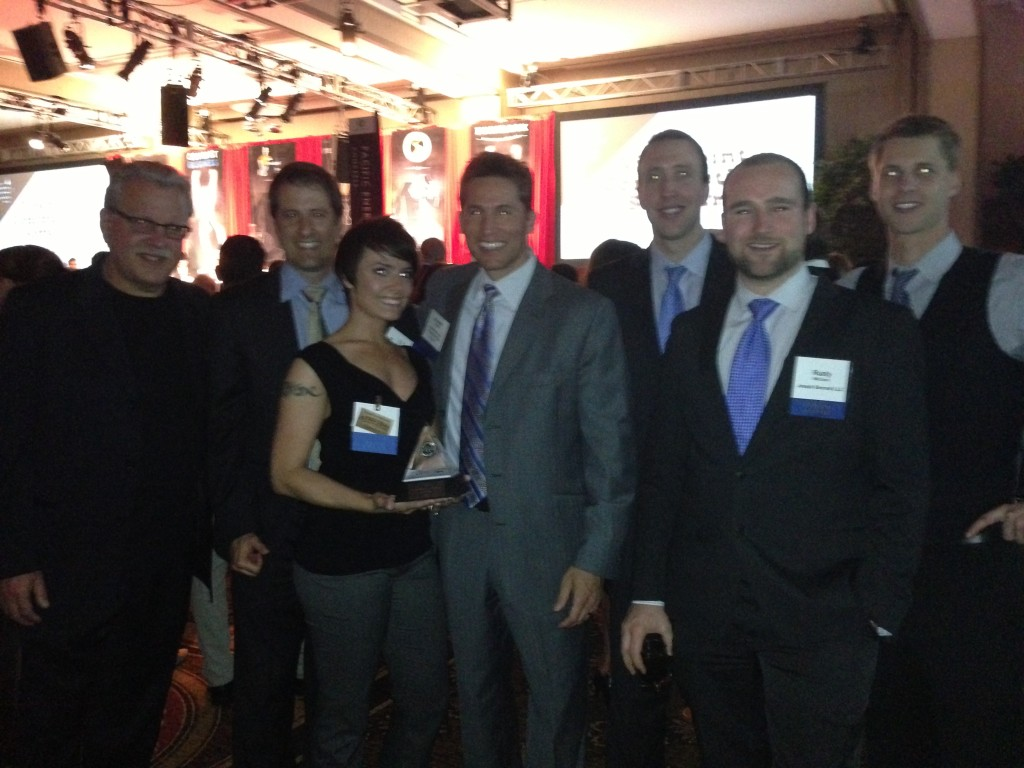 "Team Joseph Bernard at the Portland Business Journal ""Top 100 Fastest Growing Private Oregon Companies"" Event"