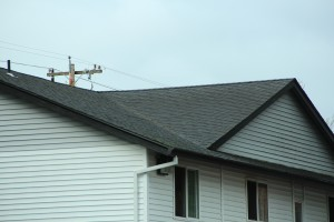 Roofing on the Trymax appears to be in great shape