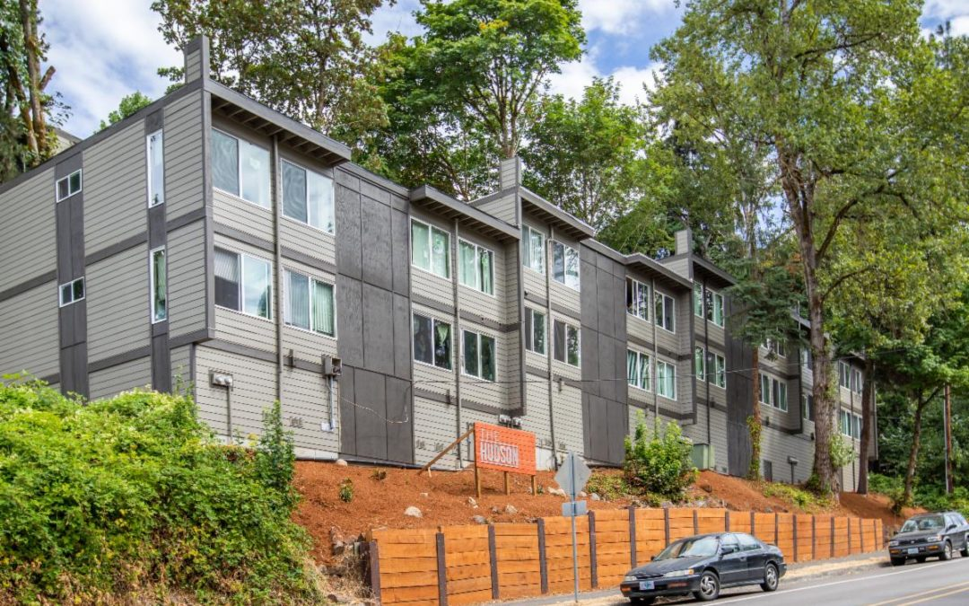 SOLD! The Hudson Apartments, Oregon City, Oregon: $2,850,000