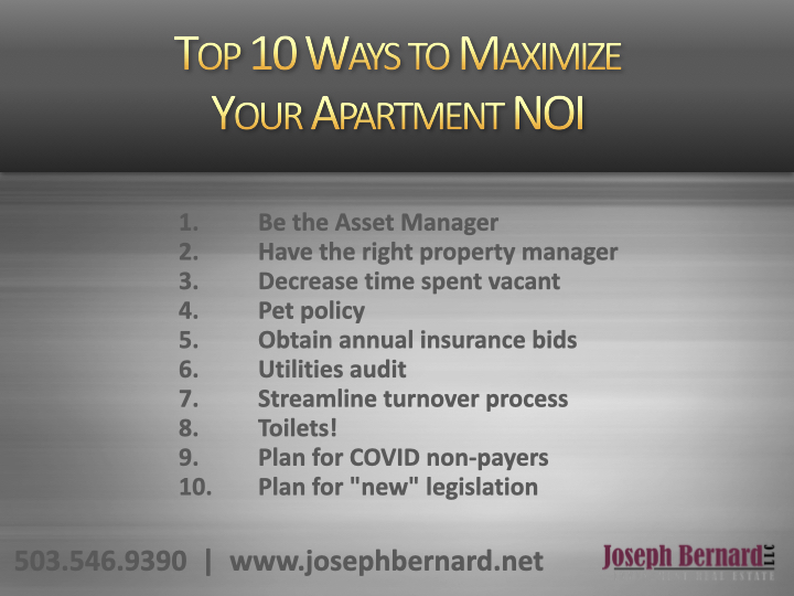 "Metrofamily NW Webinar Summary: ""The Top 10 Ways To Maximize Your Apartment NOI in 2021"" (Part II)"