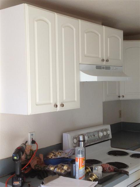 Kitchens have newer cabinets